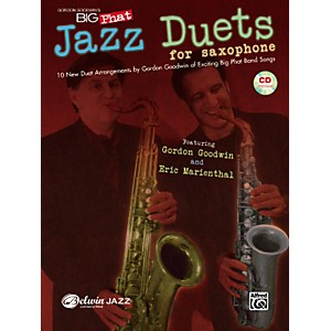 Alfred-Gordon-Goodwin-s-Big-Phat-Jazz-Saxophone-Duets-Book---CD-Standard