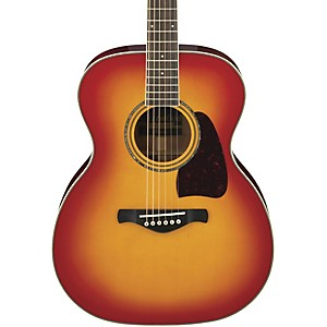 Ibanez-Artwood-Series-AC300-Grand-Concert-Acoustic-Guitar-Cherry-Sunburst