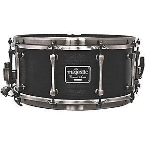 Majestic-Concert-Black-snare-drum-Maple-14x6-5