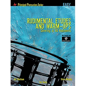 Hal-Leonard-The-Principal-Percussion-Series-Easy-Level---Rudimental-Etudes-and-Warm-Ups-Covering-All-40-Rudiment-Standard