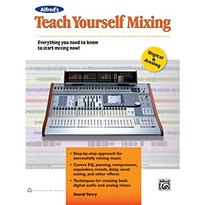 Alfred-Teach-Yourself-Mixing-Book-Standard
