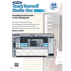 Alfred-Teach-Yourself-Studio-One-Version-2-0-Book---DVD-Standard