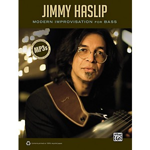 Alfred-Jimmy-Haslip-Modern-Improvisation-for-Bass-Book-Standard