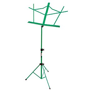On-Stage-Stands-Compact-Sheet-Music-Stand-Green