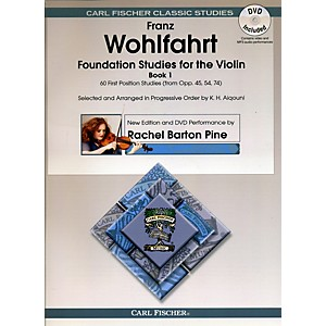 Carl-Fischer-Foundation-Studies-for-Violin-Book-1--Book---DVD--Standard