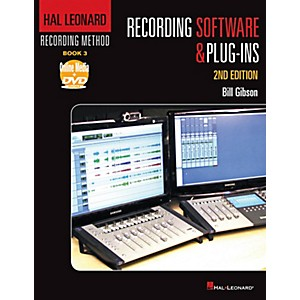 Hal-Leonard-Hal-Leonard-Recording-Method---Book-3--Recording-Software---Plug-ins---2nd-Edition-Book-DVD-ROM-Standard