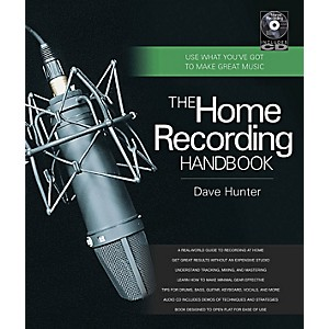 Hal-Leonard-The-Home-Recording-Handbook-Book-CD-Standard