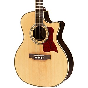 Luna-Guitars-Americana-Classic-AMF-100-Folk-Cutaway-Acoustic-Electric-Guitar-Natural-Folk
