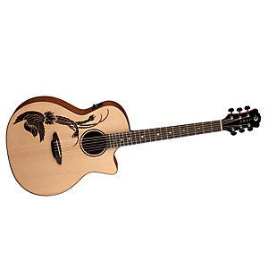 Luna-Guitars-Oracle-Folk-Series-Phoenix-Cutaway-Acoustic-Electric-Guitar-Natural-Phoenix-Design