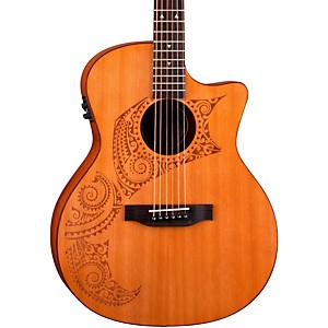 Luna-Guitars-Oracle-Grand-Concert-Series-Tattoo-Acoustic-Electric-Guitar-Natural-Tattoo-Design