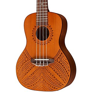Luna-Guitars-Tapa-Cedar-Acoustic-Electric-Ukulele-Natural-Tapa-Design