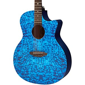 Luna-Guitars-Gypsy-Acoustic-Guitar-Trans-Blue-Quilt