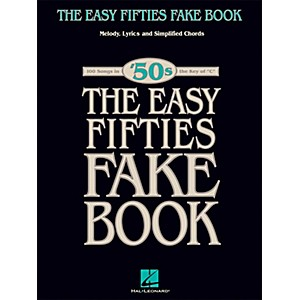 Hal-Leonard-The-Easy-Fifties-Fake-Book---Melody--Lyrics---Simplified-Chords-in-Key-Of-C-Standard
