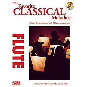 Cherry-Lane-Favorite-Classical-Melodies---Book-CD-Flute