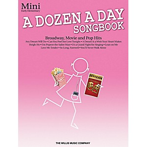 Willis-Music-A-Dozen-A-Day-Songbook---Mini-Early-Elementary-Level-Book-Standard