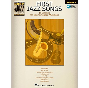 Hal-Leonard-First-Jazz-Songs---Easy-Jazz-Play-Along-Vol--1-Book-CD-Standard