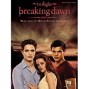 Hal-Leonard-Twilight-Breaking-Dawn--Part-1-Music-From-The-Motion-Picture-Soundtrack-for-Piano-Vocal-Guitar-Standard