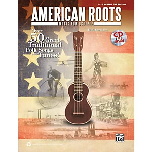 Alfred-American-Roots-Music-for-Ukulele-Book---CD-Standard