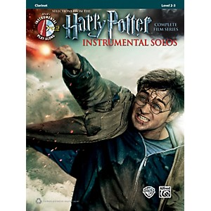 Alfred-Harry-Potter-Instrumental-Solos-Clarinet-Book---MP3-CD-Standard