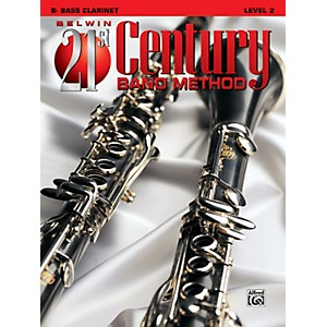 Alfred-Belwin-21st-Century-Band-Method-Level-2-Bass-Clarinet-Book-Standard
