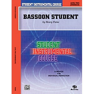 Alfred-Student-Instrumental-Course-Bassoon-Student-Level-2-Book-Standard