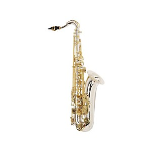 Jupiter-Intermediate-Tenor-Saxophone-Sterling-Silver-Neck--Silver-Plated-Body