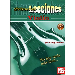 Mel-Bay-First-Lessons-Violin-Spanish-Edition-Book-CD-Set-Standard