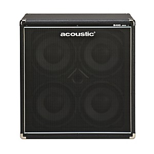 Acoustic-B410mkII-4x10-Bass-Speaker-Cab-Black