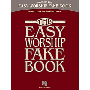 Hal-Leonard-More-Of-The-Easy-Worship-Fake-Book-Standard