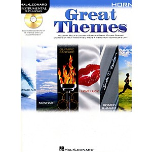 Hal-Leonard-Great-Themes---Instrumental-Play-Along-Book-CD-Horn
