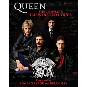 Hal-Leonard-Queen---The-Complete-Illustrated-Lyrics-book-Standard