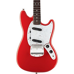 Squier-Vintage-Modified-Mustang-Electric-Guitar-Fiesta-Red-Rosewood-Fingerboard
