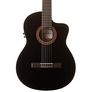 Cordoba-C5-CEBK-Classical-Acoustic-Electric-Guitar-Black-Black