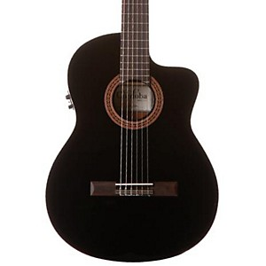 Cordoba-C5-CET-Classical-Thinline-Acoustic-Electric-Guitar-Black