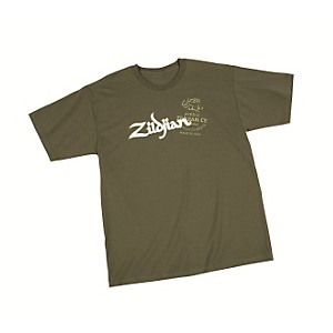 Zildjian-Military-T-Shirt-Green-XXX-Large