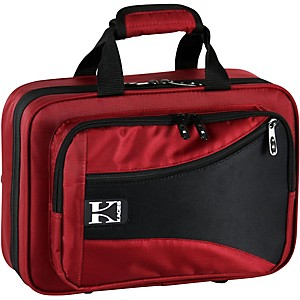 Kaces-Structure-Series-Polyfoam-Clarinet-Case-Dark-Red