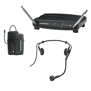 Audio-Technica-System-8-Wireless-System-includes--PRO-8HEcW-headworn-microphone-171-905-MHz