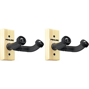 FretRest-by-Proline-GH1-Guitar-Wall-Hanger--2-Pack--Natural