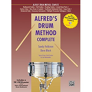 Alfred-Alfred-s-Drum-Method-Complete-Book---Rudiment-Poster-Standard