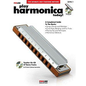 ProLine-ProLine-Play-Harmonica-Today--Method-Book-with-CD---DVD-Standard