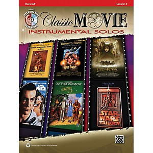 Alfred-Classic-Movie-Instrumental-Solos-French-Horn-Play-Along-Book-CD-Standard