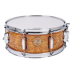 Pearl-Limited-Edition-Artisan-II-Lacquer-Poplar-Maple-Snare-Drum-Cappuccino-with-Chrome-Hardware-14x5-5