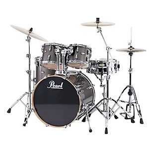 Pearl-VBL-Vision-Birch-5-Piece-Shell-Pack-w-20--Bass-Drum-Graphite-with-Chrome-Hardware