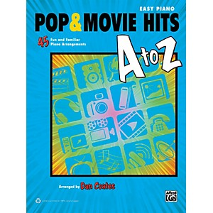 Alfred-Pop---Movie-Hits-A-to-Z-Easy-Piano-Book-Standard