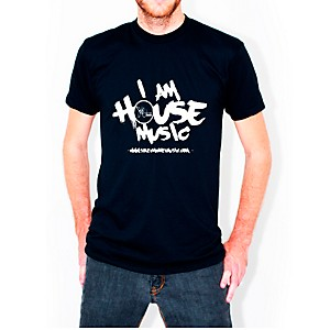 JoJo-Electro-I-am-House-Music-T-Shirt-Black-Large