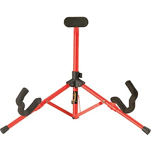 Fender-Tubular-Mini-A-Frame-Stand-Red
