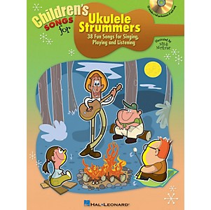 Hal-Leonard-Children-s-Songs-For-Ukulele-Strummers-Book-CD-Standard