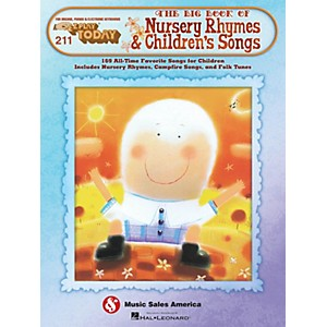 Hal-Leonard-The-Big-Book-Of-Nursery-Rhymes---Children-s-Songs-E-Z-Play-211-Standard