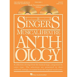 Hal-Leonard-Singer-s-Musical-Theatre-Anthology-Duets-Volume-3-Book-CDs-Standard