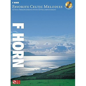Hal-Leonard-Favorite-Celtic-Melodies-For-F-Horn-Book-CD-Standard
